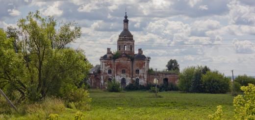 Церковь Спаса Нерукотворного Образа в Салтыково