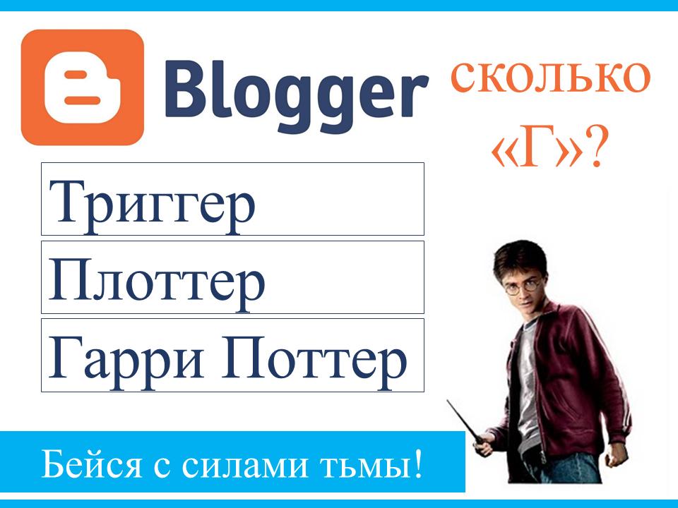 Блоггер или блогер